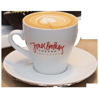 cappuccino cup & saucer latte art