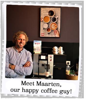Office coffee expert Maarten