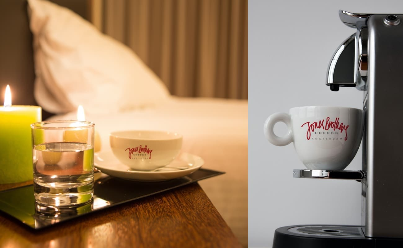 Coffee for your hotel room